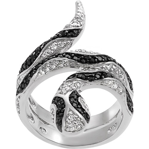 Alexandria Collection Black And White Cz