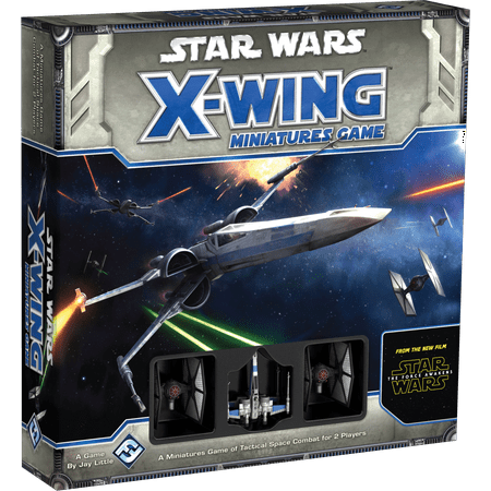 Star Wars: X-Wing - The Force Awakens Core Strategy Board Game (Star Force Game)