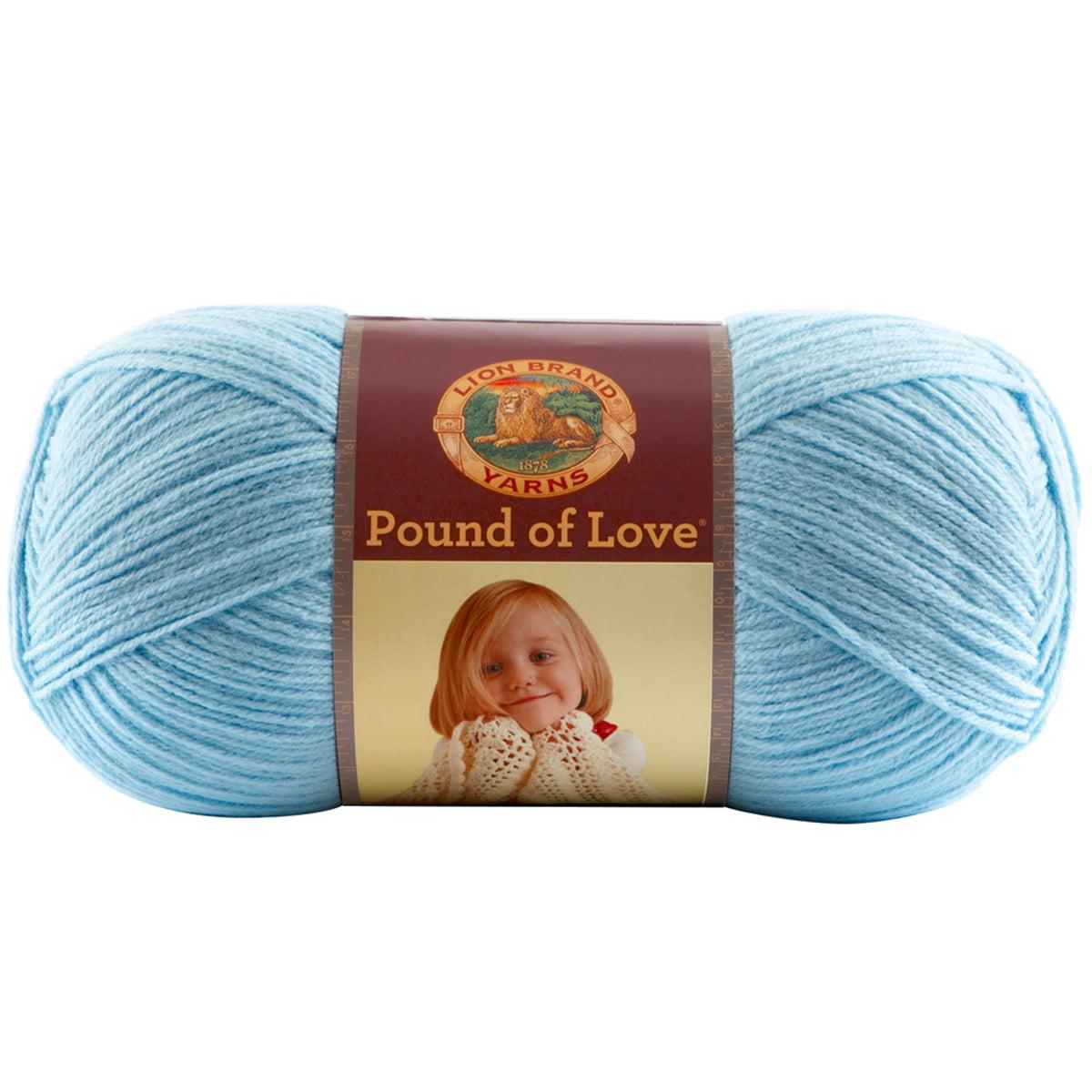 Pound Of Love Baby Yarn-Pastel Blue