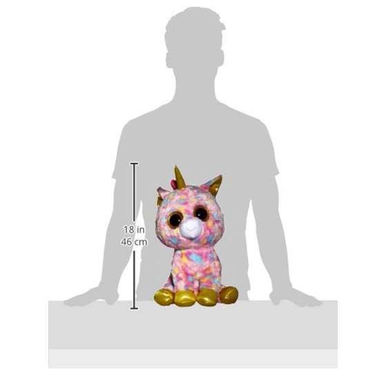 TY Beanie Boos - FANTASIA the Unicorn (Glitter Eyes) (LARGE Size - 17 inch)  - Walmart.com ec70344071f0