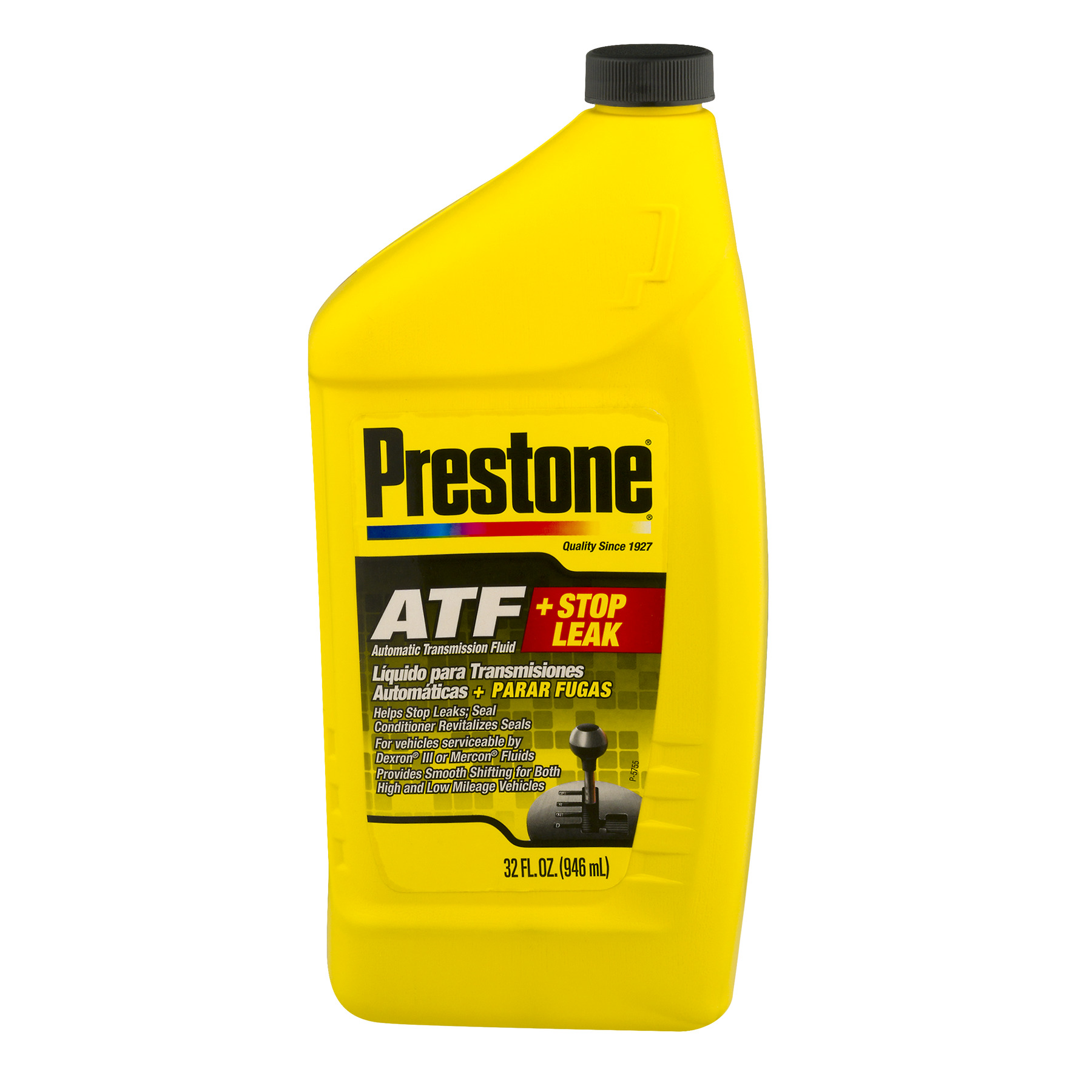 Prestone ATF + Stop Leak Automatic Transmission Fluid, 32.0 FL OZ