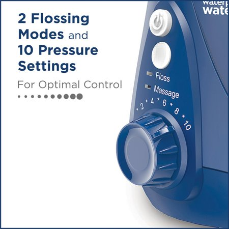 Waterpik ADA Accepted WP-663 Aquarius Water Flosser - Blue