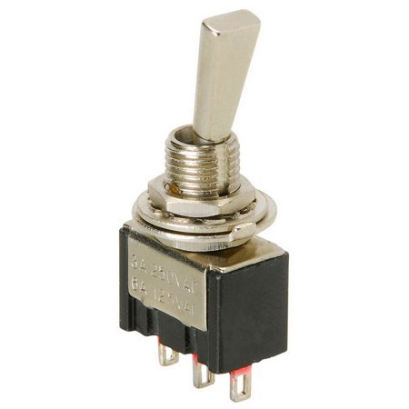 SPDT Mini Paddle Switch Center Off