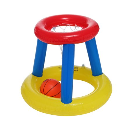 Inflatable Water Basketball Stand Best Sports In The Pool For Children And