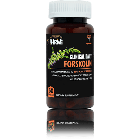 Clinical Daily Natural Forskolin Extract For Weight Loss Pure