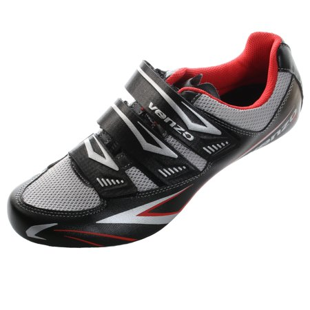 Road Bike Cycle Shoe (Venzo Road Bike For Shimano SPD SL Look Cycling Bicycle Shoes)