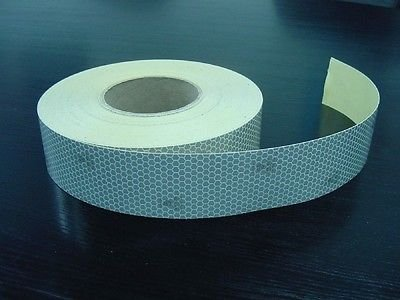 "Reflective SEW ON SOLAS Coast Guard Tape  2/"" x 10 ft"