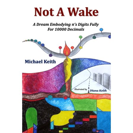 Not a Wake : A Dream Embodying (Pi)'s Digits Fully for 10000 Decimals - P Is For