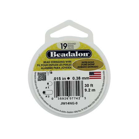 Beadalon Bead Wire 19Strand .015