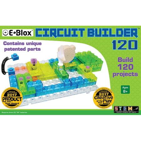 E-Blox Circuit Builder 120 Building Set