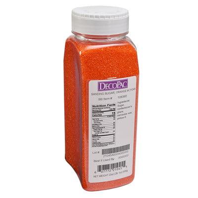 33oz Orange Sanding Sugar