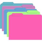 Top Notch Teacher Products TOP3316 Brite Mini File Folders 10Pk Galactic Assorted