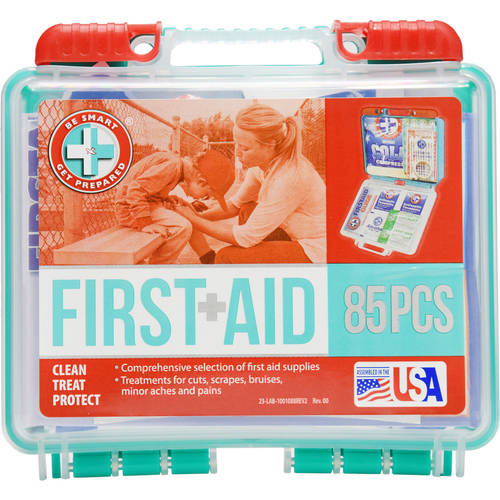 Be Smart Get Prepared First Aid Kit, 85 pc