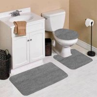 Gray Bathroom Rugs