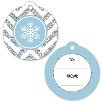 Winter Wonderland - Winter Wedding Gift Tags - Set of 20