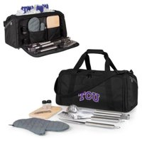 TCU Horned Frogs BBQ Kit Cooler - Black