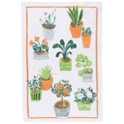 Now Designs - 100% Cotton Dish Towel Potted Plants - 1 Towel(s)