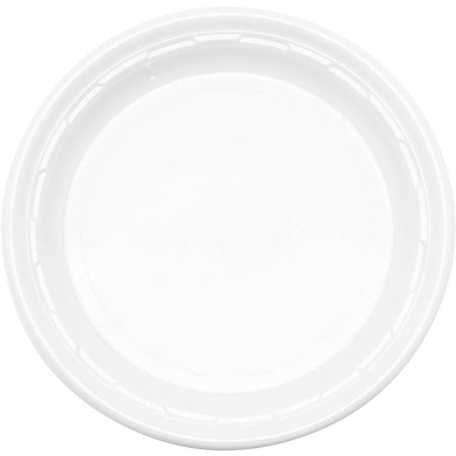 Dart Famous Service Impact Plastic Dinnerware Plates, (Pack of 500)