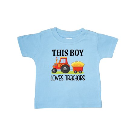 Cute Halloween Quotes Baby (Farming Cute Boy Loves Tractors Baby)