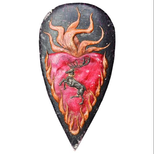 Game Of Thrones Shield Metal Pin Stannis