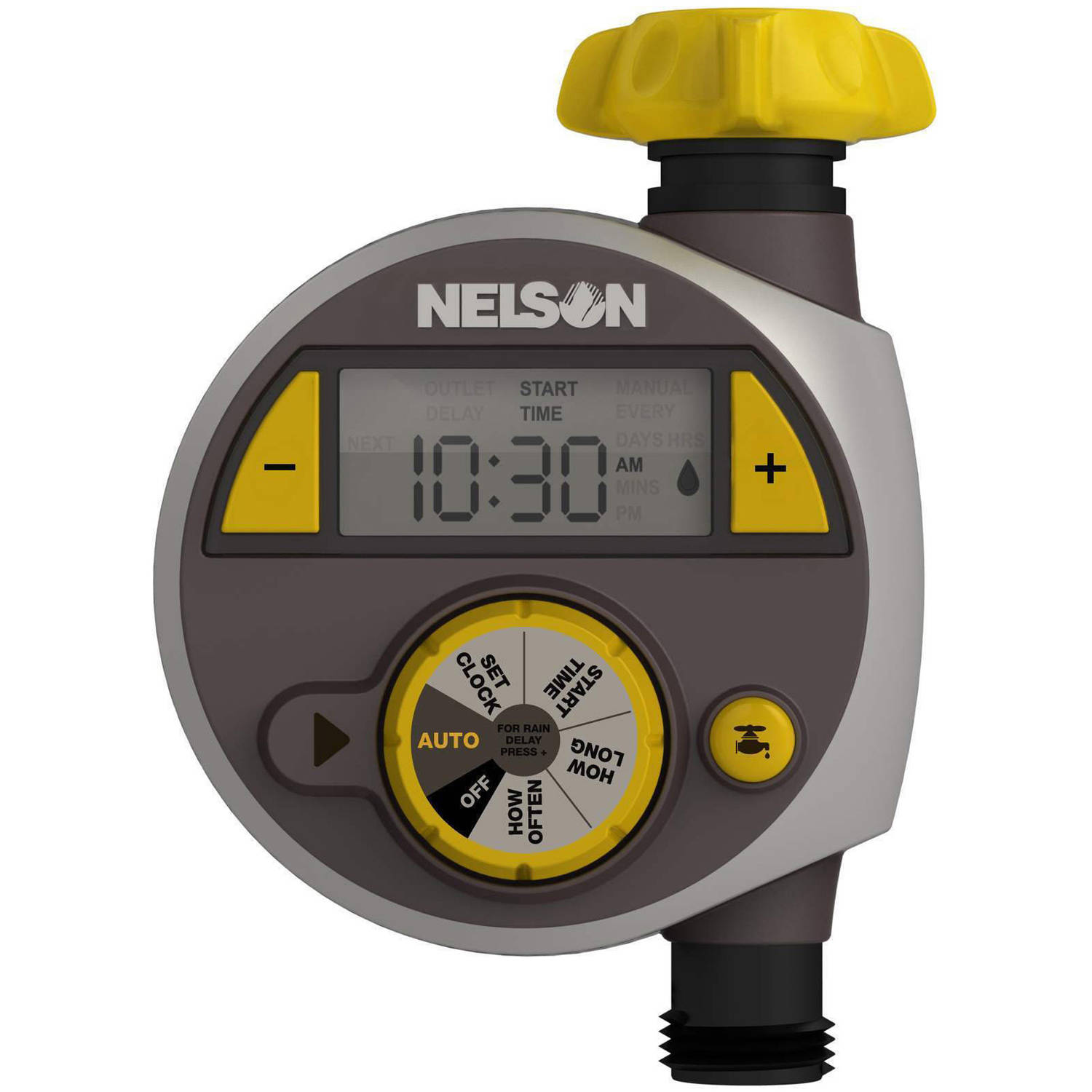 Nelson 56607 Large Timer with LCD Screen Walmartcom