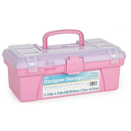 Designer Storage: Pink Vanity Storage Box