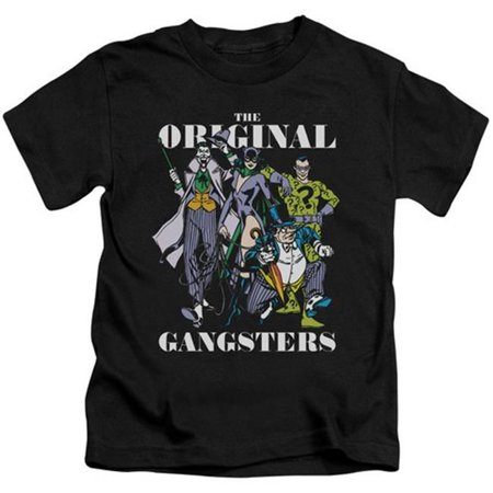Trevco Dc-Original Gangsters - Short Sleeve Juvenile 18-1 Tee - Black, Small 4 - Gangster Items