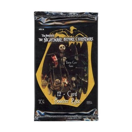 Trading Card Game - The Nightmare Before Christmas - PACK (12 cards), 12 card booster pack to add to your Nightmare CCG decks By NECA Ship from US - Christmas Exchange Games