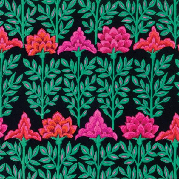 Free Spirit Fabrics Kaffe Fassett 2016 Collective Black Mughal
