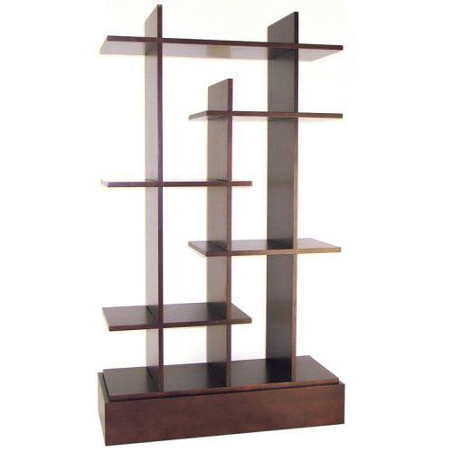 Wayborn Hason Decorative Bookcase - Walnut