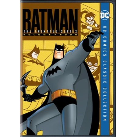 Batman The Animated Series: Volume 4 (DVD) (Best Animated Tv Shows)