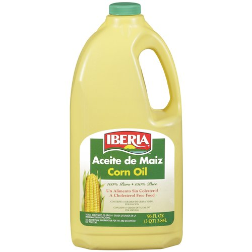Iberia Corn Oil, 96 oz