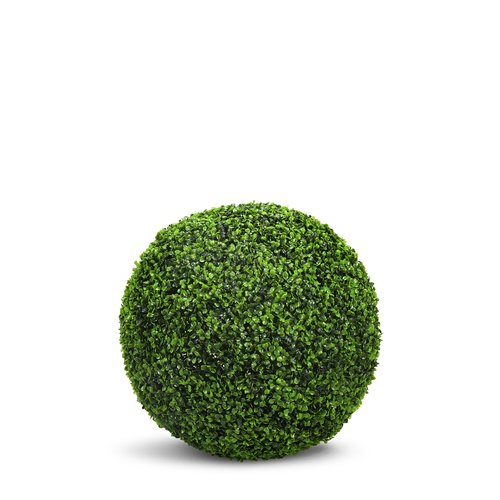 Charlton Home Artificial Boxwood Ball Round Topiary