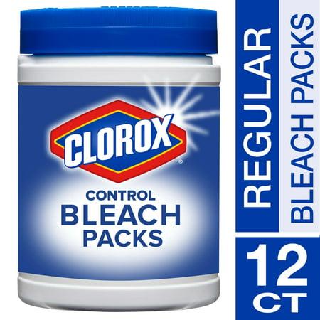 Clorox Control Bleach Packs Regular Scent 12 Count