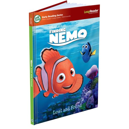 LeapFrog LeapReader Book: DisneyÂ-Pixar Finding Nemo, Lost and Found (works with Tag)