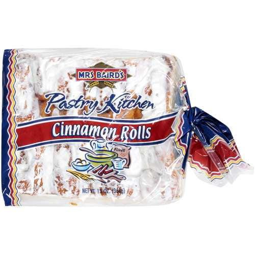 Mrs  Baird's Cinnamon Rolls, 13 oz