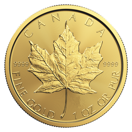 Canadian Gold Maple Leaf 1 oz Coin - Random Year