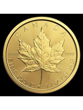Canadian Gold Maple Leaf 1 oz Coin - Random Year