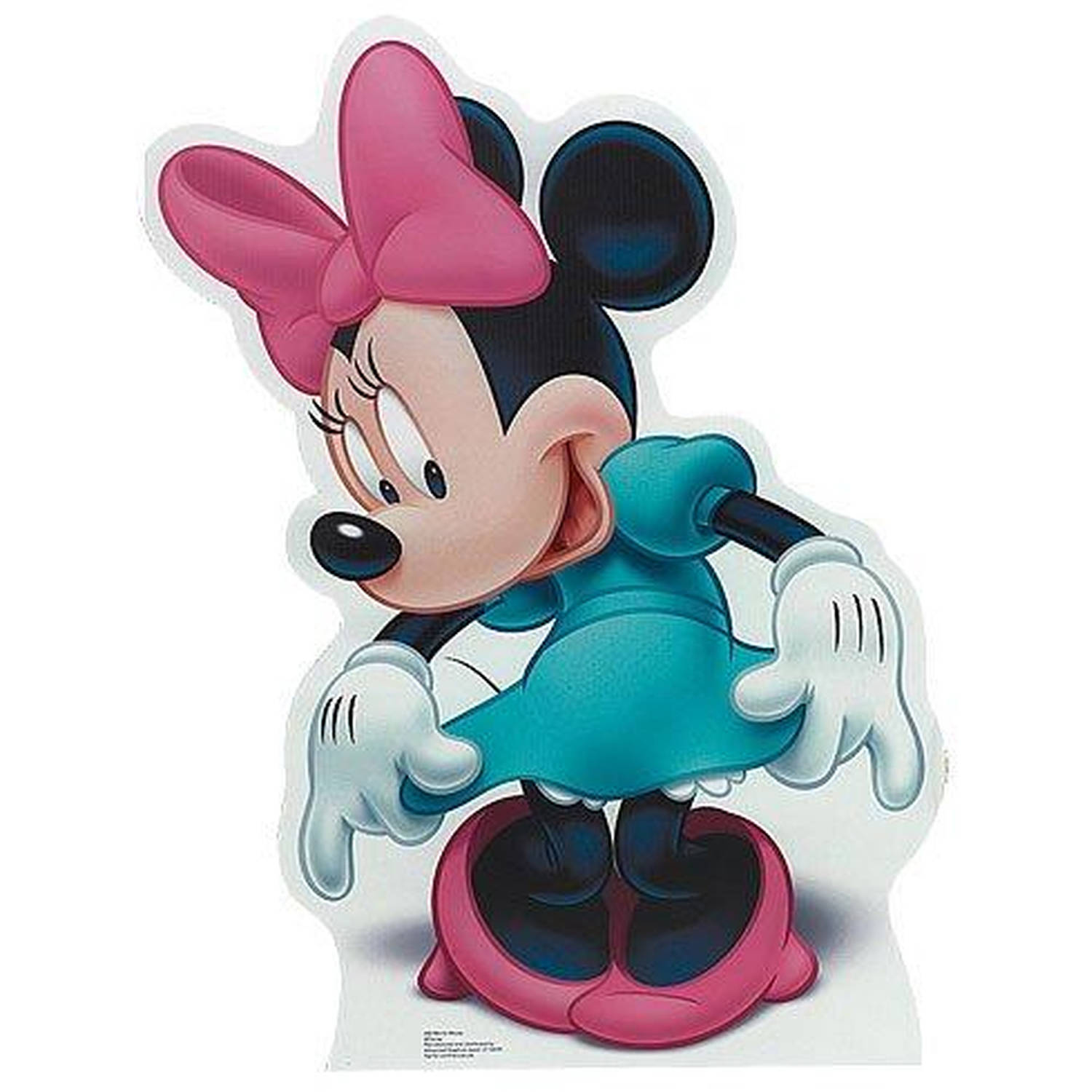Disney Minnie Mouse Standup, 3' Tall