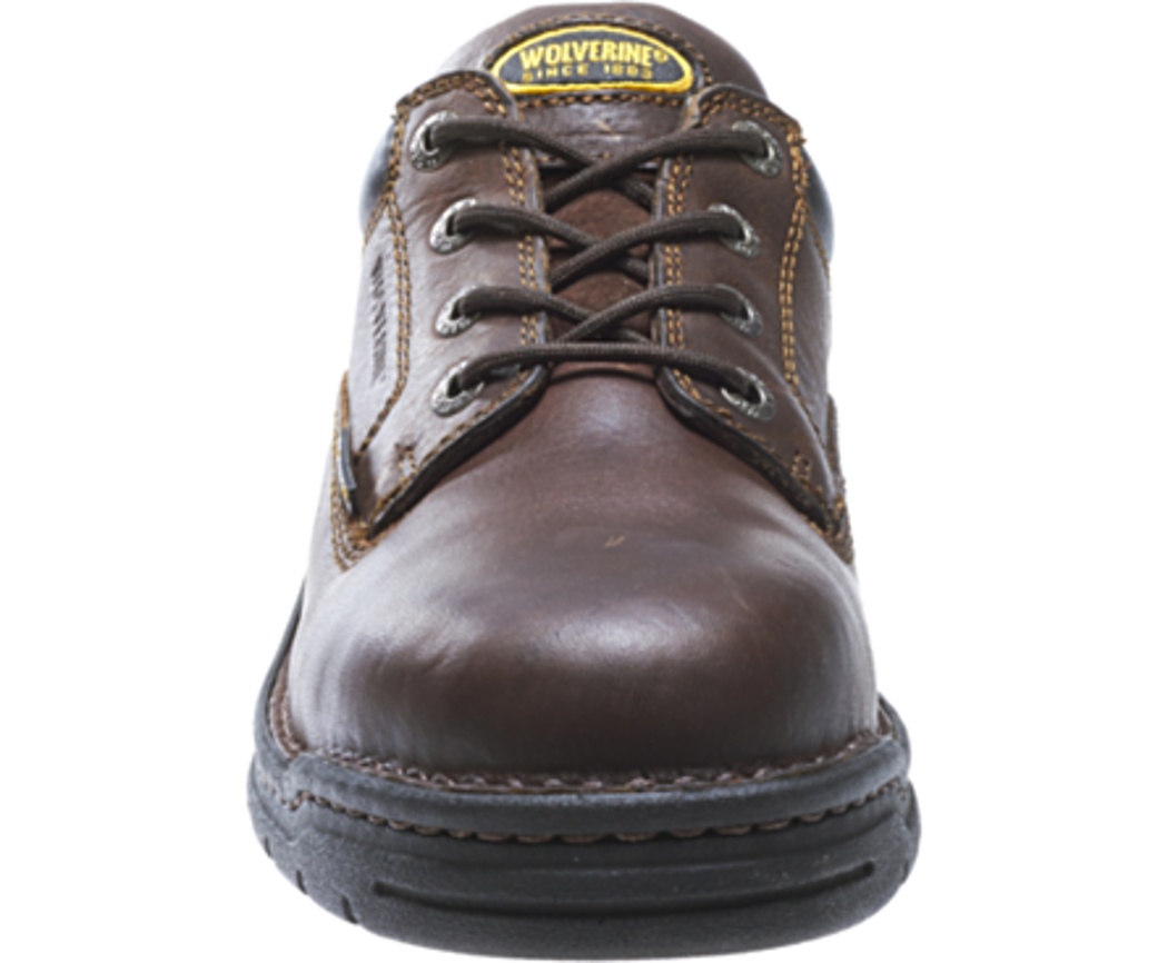 8c661c572272 Wolverine - Wolverine W04373 Mens Exert DuraShocks® Steel-Toe Opanka Oxford Work  Shoe 7 3E US - Walmart.com