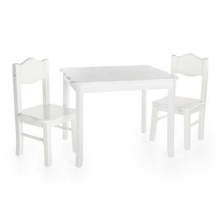 Guidecraft Table Chairs White Product Picture