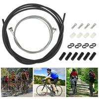 BESPORTBLE 1 Set Bicycle Brake Cable Universal Housing and Brake Cable Set Bike Cable for Bicycles Cycling Repairing Black