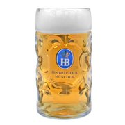 Hofbrauhaus Dimple German Beer Mug 1 Liter