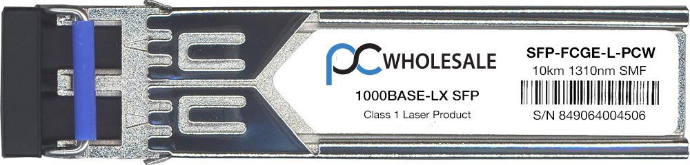Cisco Compatible SFP-FCGE-L 1000BASE-LX SFP Transceiver by Cisco