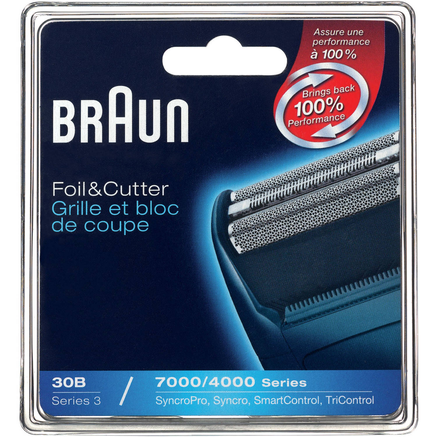 Braun 7000FC/30B Replacement Foil and Cutter