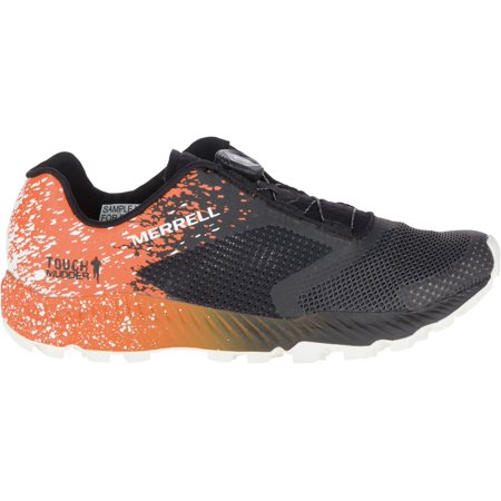 Merrell Men's All Out Crush 2 Tough Mudder BOA Trail Running Shoes, Orange, (Best Trainers For Tough Mudder)
