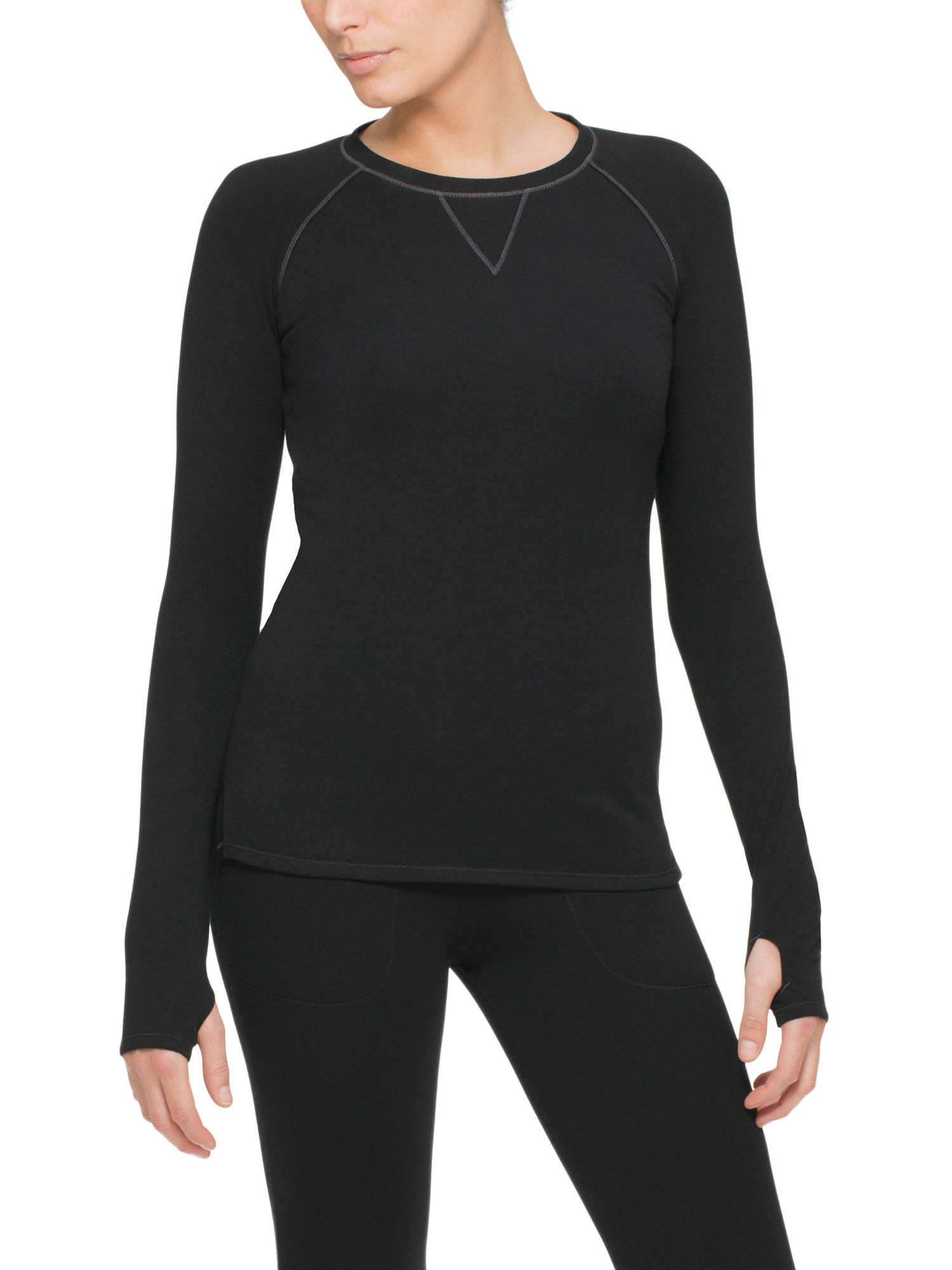 ClimateRight by Cuddl Duds Women's and Women's Plus Comfort Core Warm Long Underwear Top