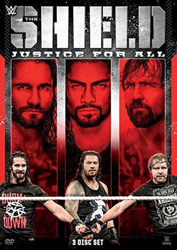 WWE: The Shield: Justice For All ( (DVD)) by World Wrestling Entertainment