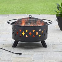 Deals on Better Homes and Gardens 28-inch Lattice Heavy Duty Fire Pit