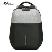 MARK RYDEN Fashionable Anti-Thief Multifunctional Business Laptop Bag Waterproof USB Charging Outdoor Men Backpack